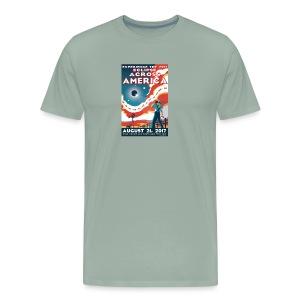 Official 2017 Eclipse Across America Gear - Men's Premium T-Shirt