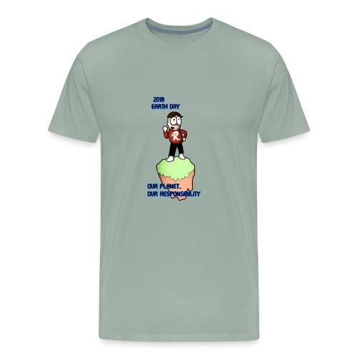 Earth day R3KT #ProtectThePlanet - Men's Premium T-Shirt