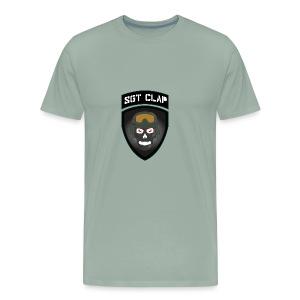 Sgt Clap Logo - Men's Premium T-Shirt