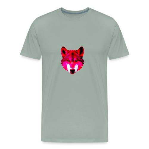Wild wolf - Men's Premium T-Shirt
