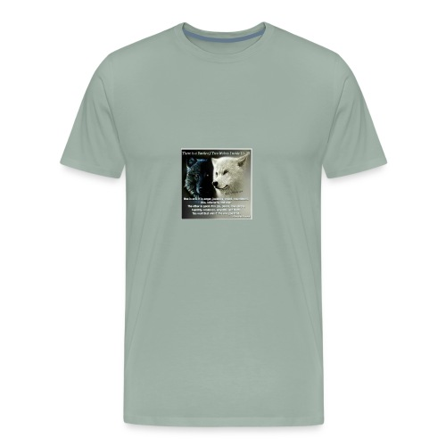 Wolf are just awesome - Men's Premium T-Shirt