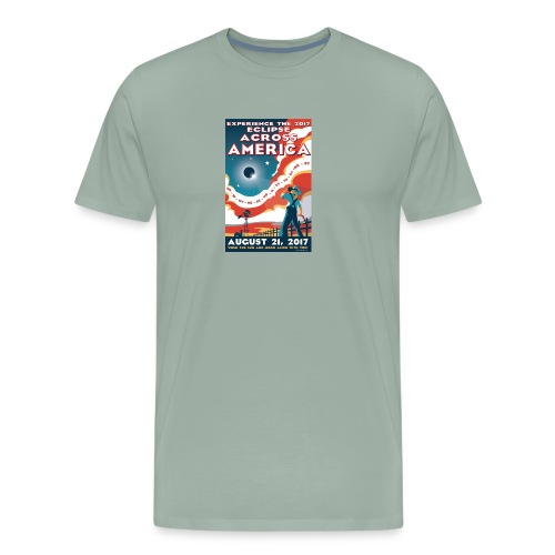 Official 2017 Eclipse Across America Gear - Men's Premium T-Shirt