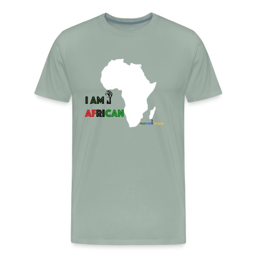 #RepYourNation: I Am African - Men's Premium T-Shirt