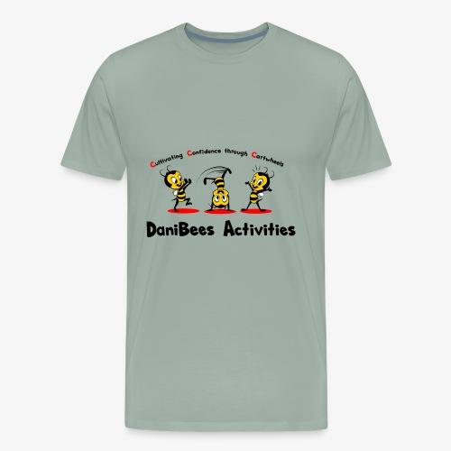 DaniBees Cartwheel Red - Men's Premium T-Shirt