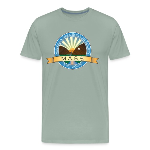 Missoula Area Secular Society Logo - Men's Premium T-Shirt