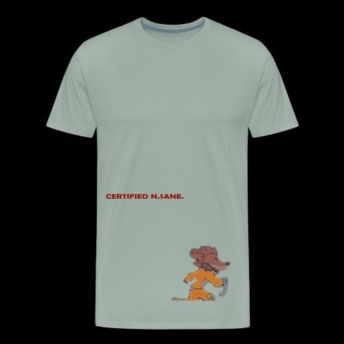 Free Bandicoot (Certified N.Sane). - Men's Premium T-Shirt