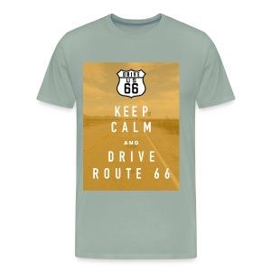 Route 66 Keep Calm T-Shirt - Men's Premium T-Shirt