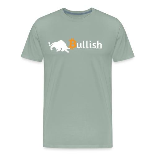 Bitcoin Bullish - Men's Premium T-Shirt