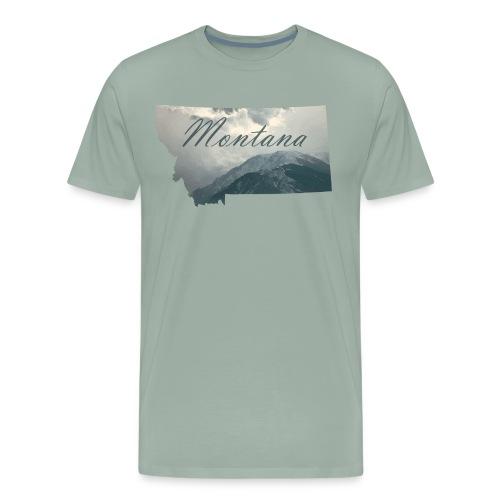 Redlodge, Montana - Men's Premium T-Shirt