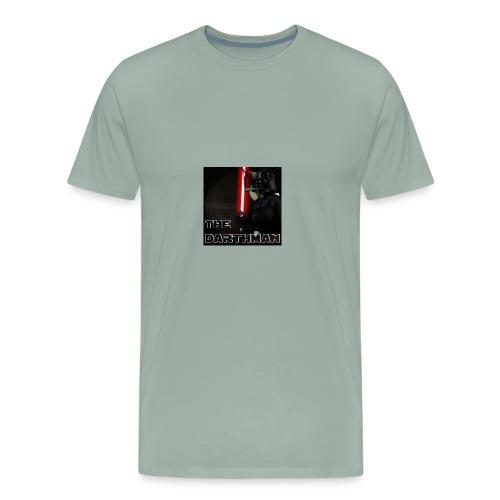 darthman avatar bg 2 - Men's Premium T-Shirt