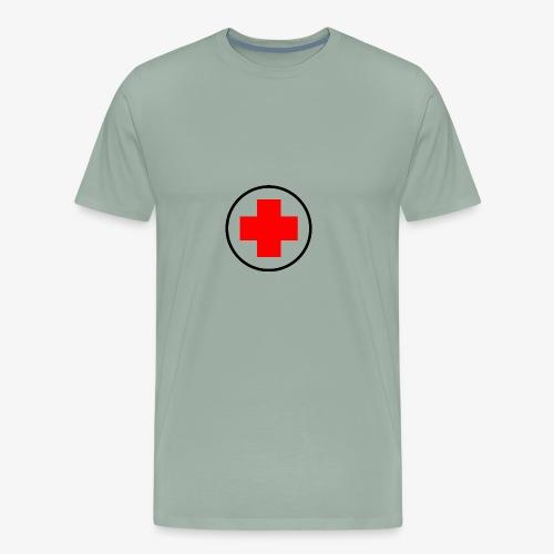 red cross - Men's Premium T-Shirt