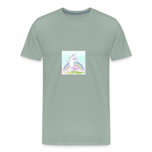 UNICORN DANCING - Men's Premium T-Shirt