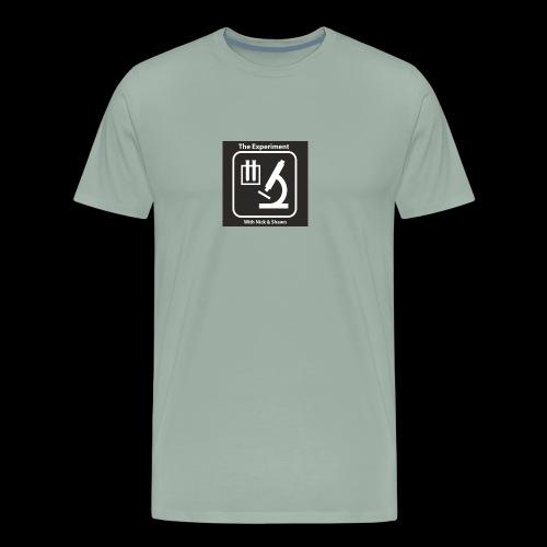 The Experiment Logo - Men's Premium T-Shirt