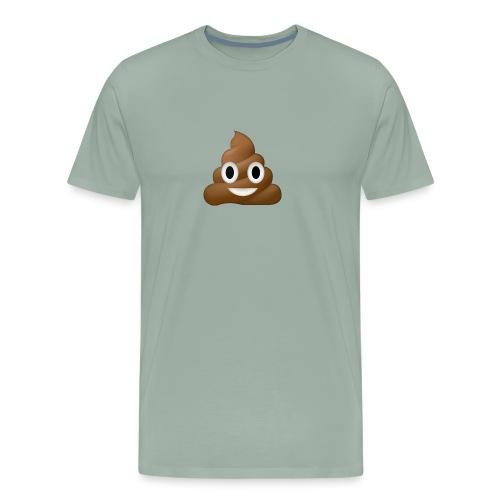 Poo E-moji - Men's Premium T-Shirt