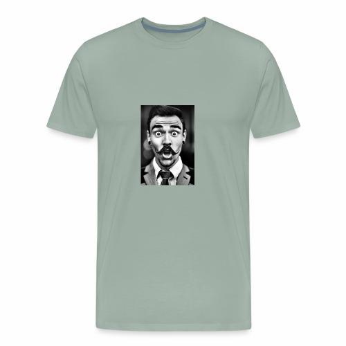 Hip mustache - Men's Premium T-Shirt