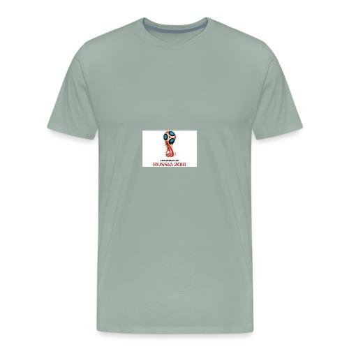 2018 world cup logo - Men's Premium T-Shirt