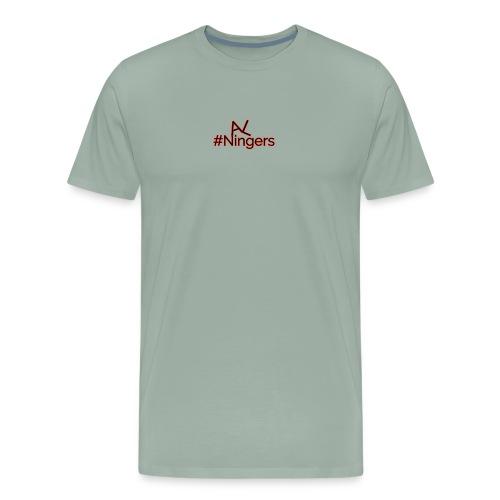 Hidden V LogoMakr - Men's Premium T-Shirt