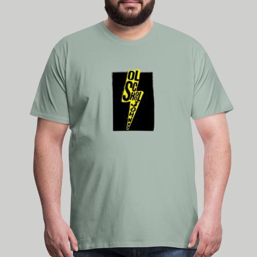 Ol' School Johnny Colour Lightning - Men's Premium T-Shirt