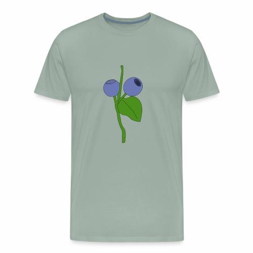 blueberry - Men's Premium T-Shirt