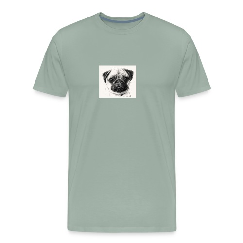 Pugs - Men's Premium T-Shirt