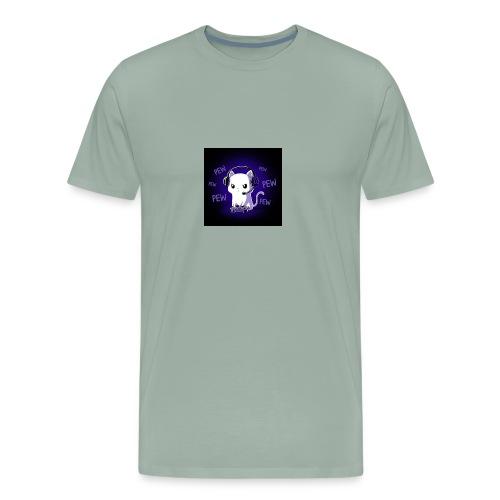 Pew Pew Kitty clean grande - Men's Premium T-Shirt