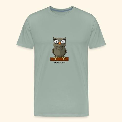 Owl Party - Men's Premium T-Shirt