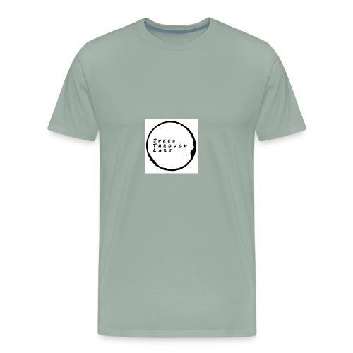 SPEED THROUGH LABS - Men's Premium T-Shirt
