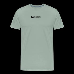 Takeon Logo Simple - Men's Premium T-Shirt