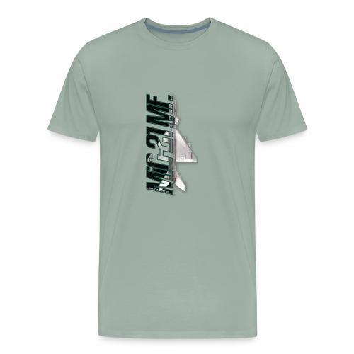 Mig-21 MF dark letters - Men's Premium T-Shirt
