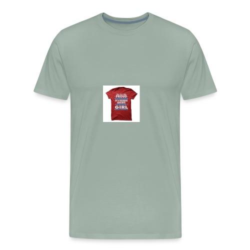 PROUD TO BE ALBANIAN - Men's Premium T-Shirt