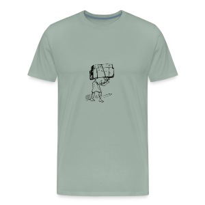 burden - Men's Premium T-Shirt