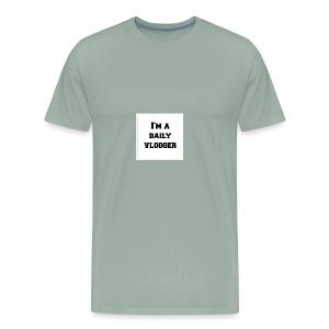 ImADailyVloggerMerch - Men's Premium T-Shirt