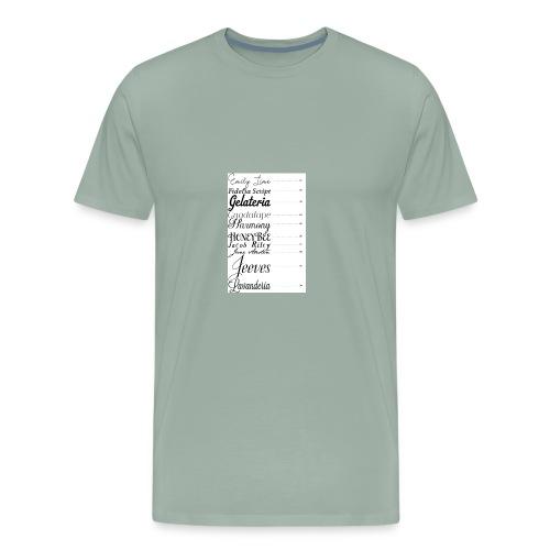 E4F61086 AECB 40EA 937A BD2632E88D8F - Men's Premium T-Shirt