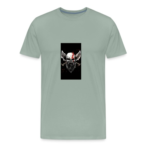 God of War Skull - Men's Premium T-Shirt