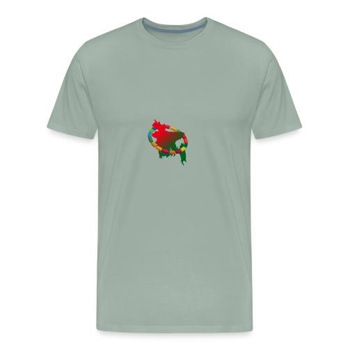 58ed1c6642938 0 goal - Men's Premium T-Shirt