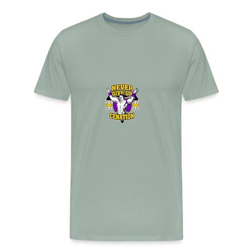 Never Give UP CENATION - Men's Premium T-Shirt