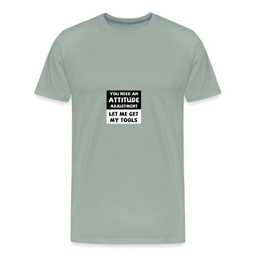 attitude adjustment - Men's Premium T-Shirt