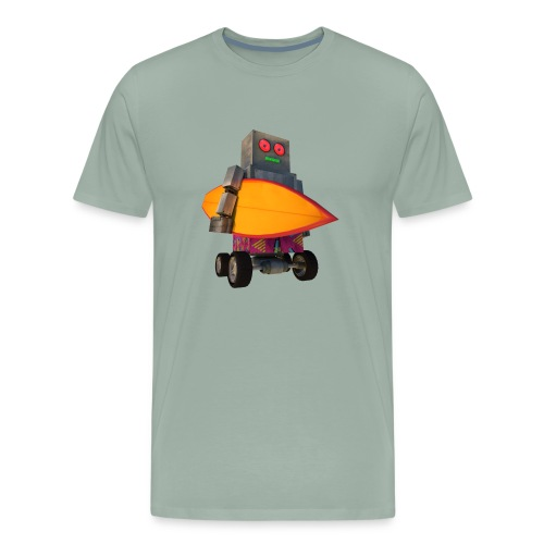 SURF, MACHINE - Men's Premium T-Shirt
