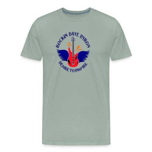 Rockin Dave Byron Logo - Men's Premium T-Shirt