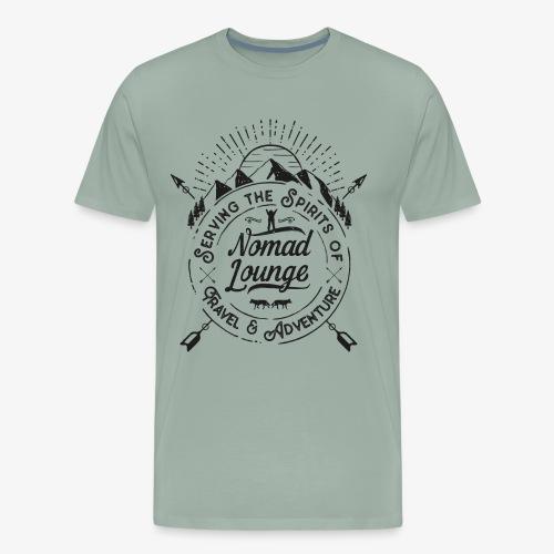Nomad Lounge (Dark) - Men's Premium T-Shirt
