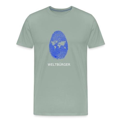 Fingerprint of the World - Men's Premium T-Shirt
