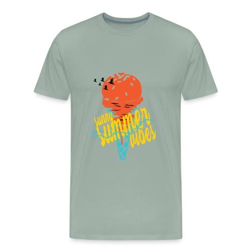 summervibes - Men's Premium T-Shirt