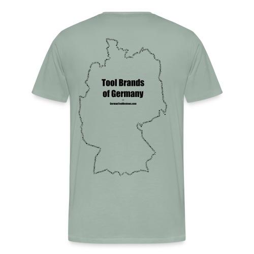 Tool Brands of Germany Outline v1 - Men's Premium T-Shirt