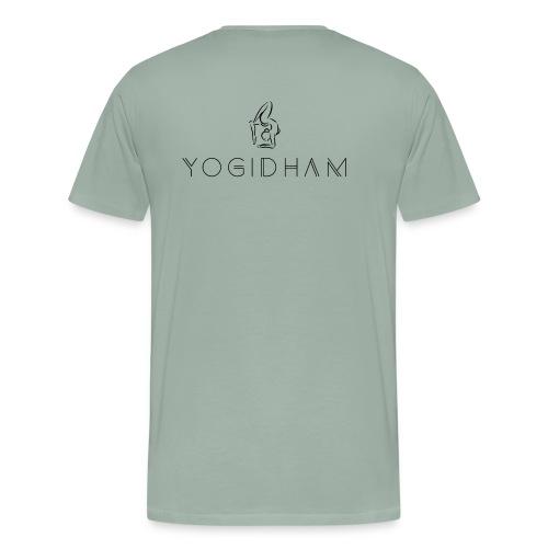 Yogidham Dark Logo - Men's Premium T-Shirt