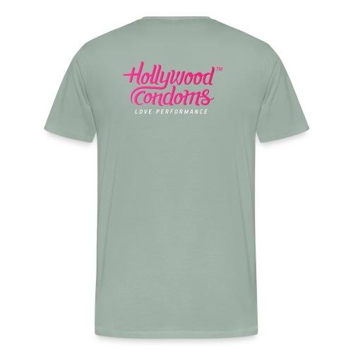 Hollywood Condoms™ - Love Performance - Men's Premium T-Shirt
