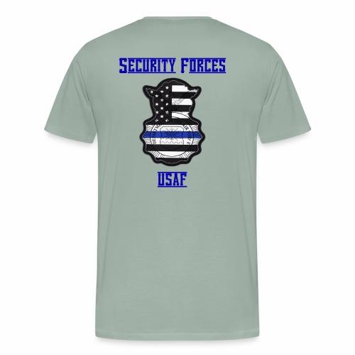 Security Forces Blue Line - Men's Premium T-Shirt