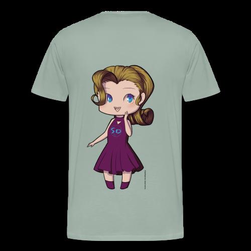 Anime Chibi Girl - Men's Premium T-Shirt