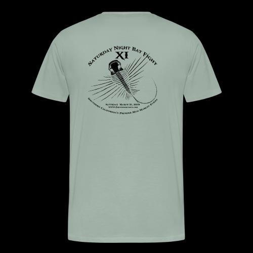Saturday Night Bat Fight 11 - Men's Premium T-Shirt