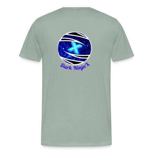 Dark NinjaX clothing logo - Men's Premium T-Shirt