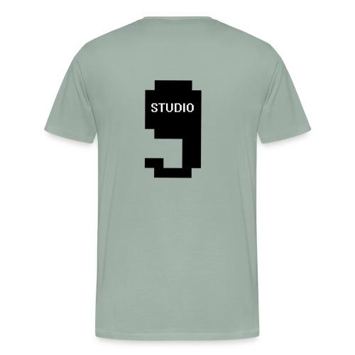 Offical Studio9 Logo Clothes - Men's Premium T-Shirt